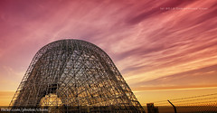 Hangar One, Moffett Air Field (Christopher Chan) Tags: california usa sunrise canon sanjose nasa airship siliconvalley mountainview 1022mm hdr airfield 30d moffett hangarone