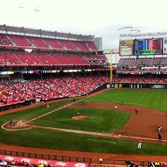 Last Regular Season Game of 2012 #Cincinnati #Reds #GABP