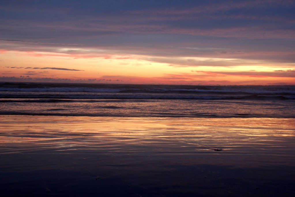 Sunset at Pangandaran, West Java, Indonesia