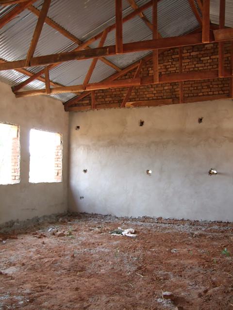 New classroom interior