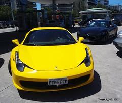Italian Rules Bitch (ThiagoLP_700) Tags: brazil black duo ferrari mc exotic giallo coupe v8 maserati allblack combo 458 stradle giallomodena ferrari458italia maseratimcstradale thiagolp700 italianrulesbitch