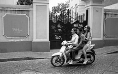 (Easy Riders) (Robbie McIntosh) Tags: leica blackandwhite bw film boys monochrome analog speed 35mm kodak candid trix strangers streetphotography fast hc110 rangefinder scooter bn summicron negative 400 analogue m6 biancoenero bikers argentique riders leicam6 dyi selfdeveloped pellicola kodaktrix400 analogico leicam6ttl leicam filmisnotdead kodakhc110 hc110dilb autaut leicasummicron35mmf20iv leicasummicron35mmf2iv summicron35mmf20iv pushed800iso