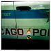 Dieter in Front of a Chicago Police Car #2