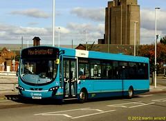 MX12KVZ 3127 arriva north west (martin 65) Tags: show bus buses transport birkenhead wirral 71012