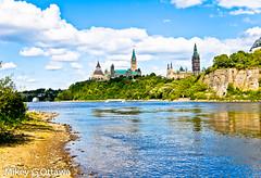 Ottawa River View East - Ottawa 08 12 (Mikey G Ottawa) Tags: city ontario canada reflection river landscape ottawa selected parliamenthill ottawariver mikeygottawa
