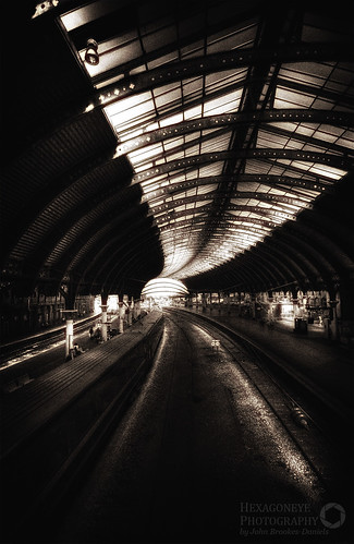York Station Sepia HDR