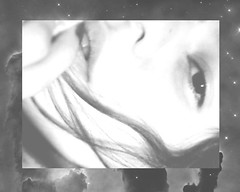 solosuniverso (☾arimelo) Tags: blanco yo negro todo soledad mundo rostro nebulosas