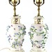 113. Pair of Porcelain Lamps