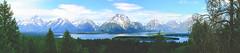 Tetons Panorama (grimeshome) Tags: panorama mountain mountains nature landscape mountmoran wilderness tetons grandtetonnationalpark signalmountain mtmoran tetonslandscaape