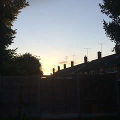 Orange Cloud #sunset#evening#blue#orange#orange#tree#houses#fade#bright#colour# (richiehodd2) Tags: sunset evening blue orange tree houses fade bright colour