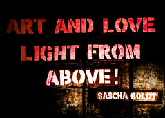 Art and love - light from above