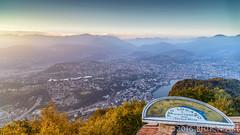 Pro Lugano (flowed_back) Tags: nikon d800e zeiss distagont2821 zf2 nature landscapes lugano paradiso sansalvatore ticino switzerland lake water city fog sunset goldenhour leefilters lee09hardgnd leeproglass06nd leelandscapepolariser
