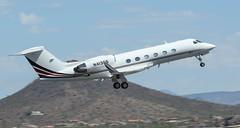 NetJets Gulfstream Aerospace G-IV N413QS (ChrisK48) Tags: aircraft airplane dvt g400 gulfstreamaerospacegiv kdvt n413qs netjets phoenixaz phoenixdeervalleyairport