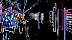 India - Tamil Nadu - Chennai - Central Railway Station - Platform - 22b (asienman) Tags: india ramilnadu centralrailwaystation asienmanphotography asienmanphotoart chennai