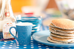 Pancake Breakfast (Michele Cannone) Tags: pancake breakfast colazione dolci cake morning food blue