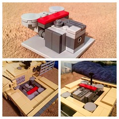 MTU MB 873 Complete! (ABS Defence Systems) Tags: wip mtumb873 powerpack engine mbt 2 leopard lego