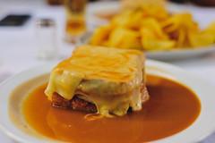 francesinha @ Restaurante A Regaleira, Porto (Gail at Large | Image Legacy) Tags: 2016 porto portugal restaurantearegaleira francesinha gailatlargecom restaurant