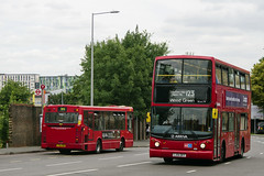 Arriva London VLA79 LJ54BFF Route 123 Tottenham (TfLbuses) Tags: tfl public transport for london double decker red buses arriva volvo b7tl alexander dennis trident marshal capital dart go ahead general