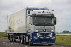 Mercedes Actros Cranswick YG63 FVD (SR Photos Torksey) Tags: truck transport haulage hgv lorry lgv road commercial vehicle freight logistics mercedes actros cranswick