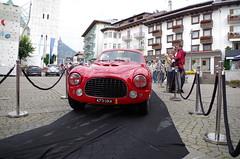 Ferrari 212 Inter Berlinetta Touring (osti_andrea) Tags: coppa doro delle dolomiti cortina dampezzo aci asi storico auto car classica classiche historic history race gara regolarit 250 inter export cavallino rampante rosso maranello italia italy symbol cars rare aerlux 473 uxa 473uxa 2005 tour 2015 goodwood revival