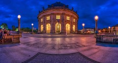 visit Berlin (Klaus Mokosch) Tags: bodemuseum berlin germany night nacht blauestunde bluehour klausmokosch hdr architektur architecture urban city cityscape travel reise