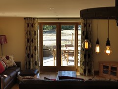 3416 Holiday let (Andy panomaniacanonymous) Tags: 20160815 ccc checksfield circular fff frenchwindow hanging hhh holidaycottage holidaylet kent lights lll lounge room rrr selfcatering sss wheel window www