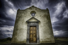 Santa Margherita church (FedeSK8) Tags: procida hdr nikond7000 sky drama sigma1020mm clouds italy italia campaniafelix federicoscotto fedesk8 wicked