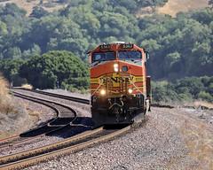 Running Light at Christie (lennycarl08) Tags: bnsf stocktonsub christie california northerncalifornia eastbay burlingtonnorthernsantafe burlingtonnorthernsantaferailroad trains train railroad