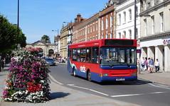 Salisbury Reds 3313 - SN03LDU (Southern England Bus Scene) Tags: wd wiltsdorset salisbury salisburyreds 3313 sn03ldu