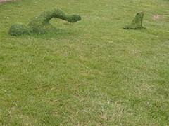 The Lawn Danger (Balticson) Tags: teignmouth devon teignbridgesculpturetrail