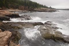 Acadia National Park shoreline (jkrieger84) Tags: nature landscape nikon d600 water sky trees rocks acadia acadianationalpark