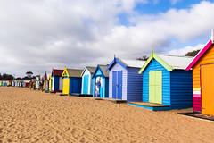Teresa Noble Photography (Impactcat) Tags: travel street landscape people world brighton beach huts melbourne