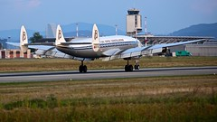HB-RSC (Breitling Jet Team) Tags: hbrsc breitling super constellation connie euroairport bsl mlh basel flughafen