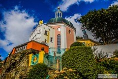 Portmeirion2016.09.16-199 (Robert Mann MA Photography) Tags: portmeirion gwynedd northwales snowdoniamountainsandcoast villages village tourism touristattractions attractions penrhyndeudraeth 2016 autumn friday 16thseptember2016 theprisoner thevillage architecture building buildings seaside