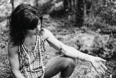 JCS1-E025 (David Swift Photography Thanks for 18 million view) Tags: davidswiftphotography portraits portraitsofwomen filmportraits tattoos 35mm film nikonfm2 ilfordxp2