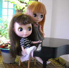 Two sisters and  a piano