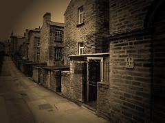 Saltaire West Yorks.      No 1 of a set of 4 (The world as eye see it. over 2.5 million views.) Tags: england museum living bradford stonework yorkshire salt leeds unesco moors shipley pennines huddersfield titus thegalaxyshipleybradfordleedswestyorkshireenglandtitussaltriveraireoldmemoriesestatestonehouseslivingmuseumworldheritageunesco
