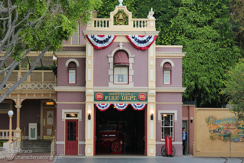 Disneyland Fire Dept At Disney Character Central
