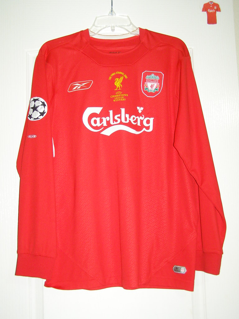28c67eff5 Liverpool F.C. 2004-2006 Home. Champions League Final 2005 Istanbul.  (mslopezs)