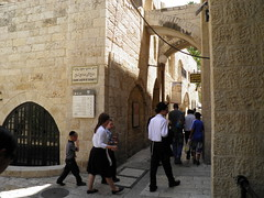 The Jewish Quarter of Jerusalem's Old City (Normann) Tags: israel alley jerusalem oldcity
