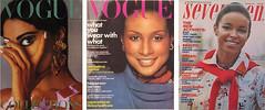 vintage firsts (jarmie52) Tags: black fashion magazine model vogue 1960s 1970s civilrights seventeen beverlyjohnson pamelajones donyvaleluna