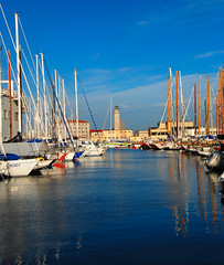 Trieste - A Daylightful View of the Harbour Li...