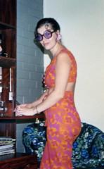 Trendy 60s (Elegance Revisited) Tags: fashion vintage print 60s style retro trendy prints 1960s psychedelic 60sstyle ritva trendyglasses styleicon 60sfashion swinging60s ritvalyytikinen