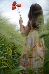 IN HARMONY (JONE VASAITIS) Tags: summer people plants flower green nature girl june photography stand kid nikon colours child expression july august fields 2012 explored