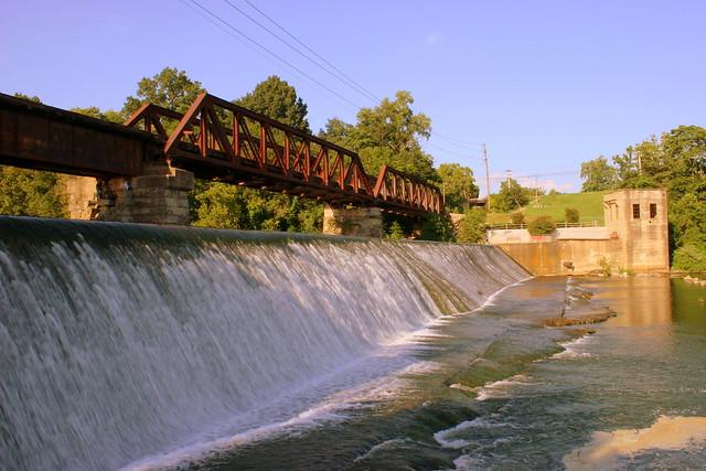 Railroad Bridge over Barren Fork - McMinnville, TN