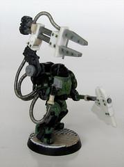 Techmarine Right WIP (Broken Jaw) Tags: 40k warhammer 40000 techmarine poweraxe servoarm