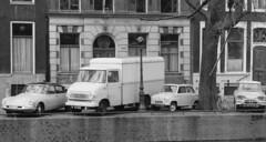 Citron ID ZT-66-87 Opel Blitz TF-70-22 Goggomobil JP-69-57 Citron Ami GD-87-30 Amsterdam 1963 (Tuuur) Tags: amsterdam id citron ami blitz opel 1963 goggomobil tuuur zt6687 tf7022 jp6957 gd8730