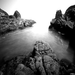 Rock Heaven (yoga - photowork) Tags: longexposure morning blackandwhite bw panorama mountain mountains beach nature canon indonesia square lens landscape photography angle wide wideangle squareformat symphony 1022mm interest wow1 fotocommunity landscapephotography beautifulmorning rockpaper 550d morningactivity trasognoerealtà landscapebeauty anawesomeshot beautifulindonesia flickaday worldtrekker onewordwow internationalflickrawards flickrclassique