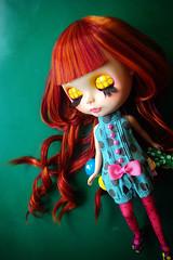 A-Dong's Custom Blythe doll No.61*Polka Dots Volitation*