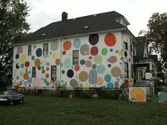 Heidelberg Project polka dot house (TheBron) Tags: hamtramck michigan detroit heidelbergproject lakemichigancircletour